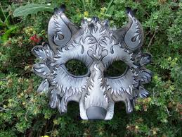 Wolf Mask Grey Wolf Mask Paperdemon