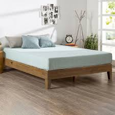 Oak Platform Bed Therapy Rustic Oak Deluxe Solid Wood Platform Bed Assorted