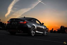 lexus rc f dubai lexus rc f on savini black di forza bm8 wheels custom wheels