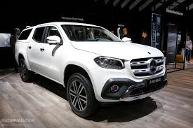 mercedes pick up volkswagen executive thrashes the mercedes benz x class pickup