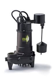 Pedestal Or Submersible Sump Pump Products Eco Flo