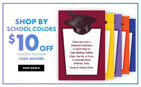 grad invitations graduation invitations for high school college 2016 party city