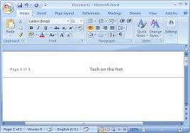 header templates for word ms word 2007 create a template from a blank document