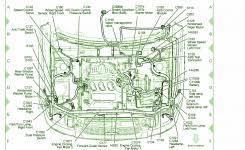 60100 sv4 010zz genuine honda hood engine inside 1997 honda