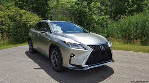 lexus touch up paint youtube road test review 2017 lexus rx350 f sport by carl malek