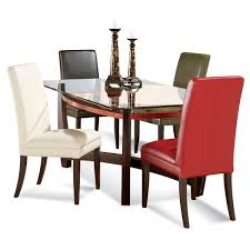 6 Seater Wooden Dining Table Design With Glass Top Stunning Rectangular Glass Top Dining Room Tables Gallery