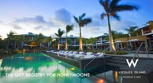 honeymoons registry w retreat and spa vieques island honeymoon registry