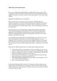 Creating The Best Resume Example Resumes For High Students Resume Example And Free