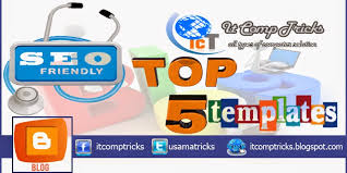 top 5 blogger seo responsive template with demo top internet