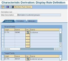 Sap Copa Resume Here We Have Discussed Briefly About Derivation Rules In Sap Copa