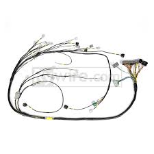 rywire toyota 2jz mil spec wire tuck engine harness