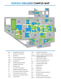 Scc Campus Map Odessa College Map