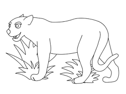 outline of animals printable www mindsandvines com