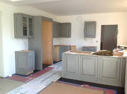 Kitchen Cabinets Painted With Annie Sloan Chalk Paint by Gray Painted Kitchen Cabinets Ideas Chalk Paint Gray Kitchen