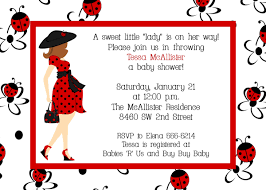 ladybug baby shower to be baby shower invitations