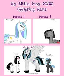 My Little Pony Meme Generator - mlp offspring meme the only inevitable outcome by the clockwork crow