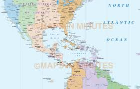 America Central Map by North And South America Map Roundtripticket Me