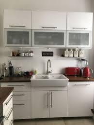 kche wei mit holzarbeitsplatte ikea küche weiß hochglanz holz arbeitsplatte nussbaum in nord