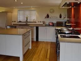 aga in modern kitchen valley view cottage ref ukc106 in st wenn near padstow