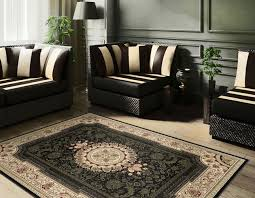 flower area rugs black traditional persian oriental border flower area rug