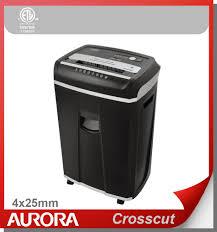 Cross Cut Paper Shredders Aurora As1630cd Plastic Paper Shredder 16 Sheet A4 Cross Cut