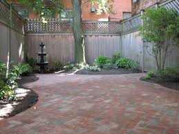 Brick Patio Pavers by Magnificent Courtyard Patio Design Ideas Patio Design 194