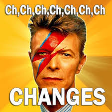 Bowie Meme - a lesson on change from david bowie welcome to centered business