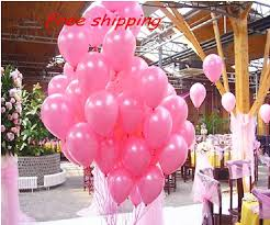 wedding arch balloons pink 12 pcs 12 hot fuchsia birthday party decor