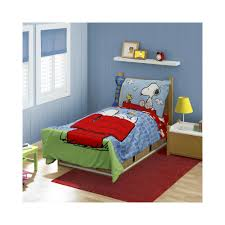 Snoopy Bed Set Upc 092317115980 Snoopy Peanuts 4 Pc Toddler Bedding Set