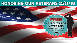 local barber shop gives back on veteran u0027s day naples park barber