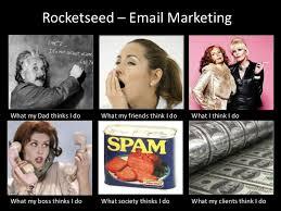 Meme Marketing - rocketseed email marketing meme