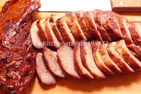 cuisine chinoise porc porc char siu thịt xá xíu la kitchenette de miss tâmla