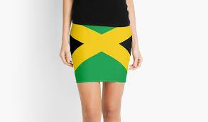 Colors Of Jamaican Flag Jamaican Flag