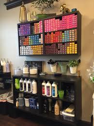 haircolor storage color bar ikea salon suite salon decor