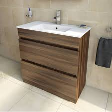 Bathroom Sink And Vanity Unit by Plan Walnut Vanity Drawer Unit And Basin 800mm Walnut Floors