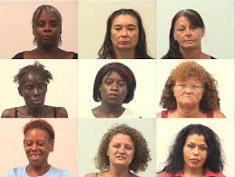 huntsville police arrest 9 women in undercover prostitution sting