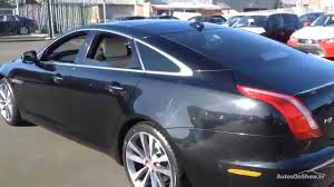 lexus used car croydon jaguar xj d v6 portfolio black 2014 youtube