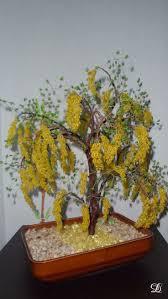 bonsai saule pleureur 22 best arbres en perles images on pinterest wire trees bonsai