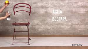 Rustoleum For Metal Patio Furniture - diy pintar metales con metal protection de rust oleum youtube