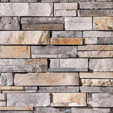 Buy Stacked Stone Backsplash Online At Wholesale Prices - Layered stone backsplash