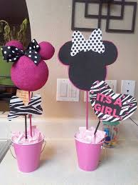 minnie mouse baby shower decorations minnie mouse baby shower centerpieces beautiful creations