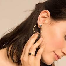 hoop studs shop soko earrings