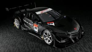 honda gets ready for 2017 season with furious looking nsx gt race car
