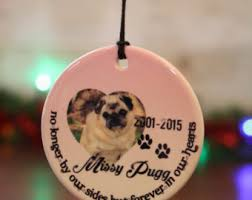 personalized photo ornament pet memorial ornament ornament