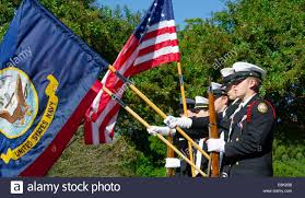 American Flag To Color A Us Navy Color Guard Of Rotc Cadets Presents The American Navy