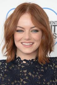 emma stone natural hair before after photos of celebrities with natural hair
