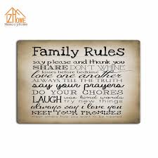 funny doormat memory home custom retro family rules machine washable fabric non