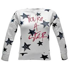 o neill star crew sweatshirt sweaters and sweatshirts white aop