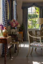 English Country Window Treatments by Inside The Charming Country Estate Of Deborah Duchess Of
