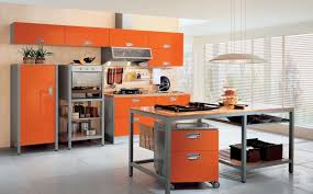 orange kitchen ideas orange kitchen ideas for fresh contemporary kitchen diy home
